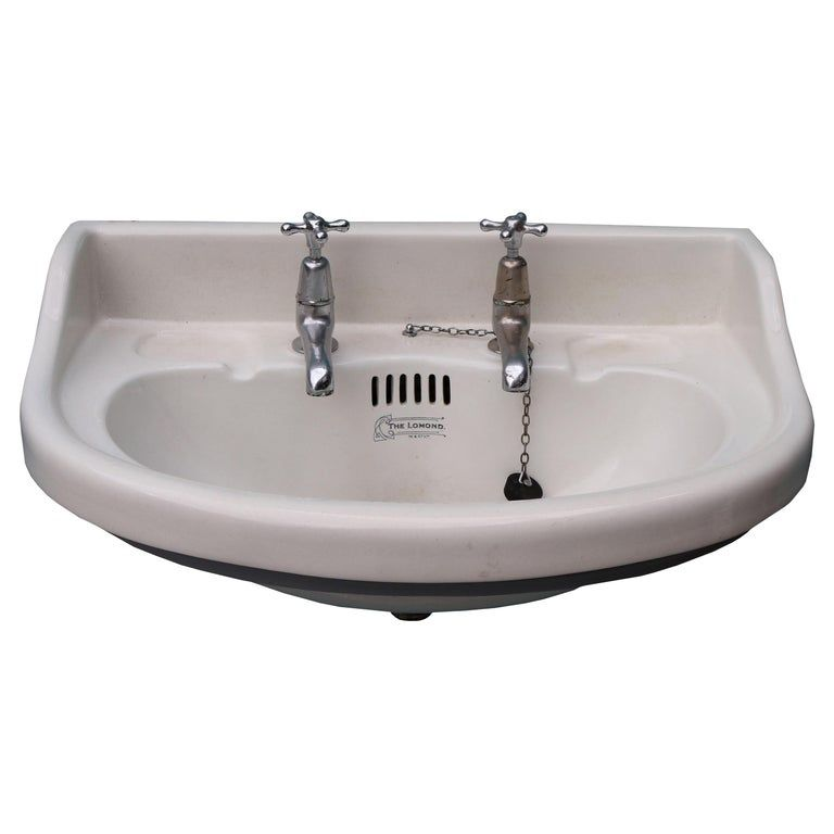 Photo of Reclaimed Porcelain Wash Basin / Sink