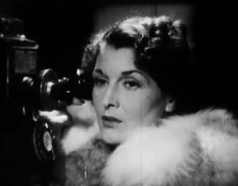 0 Evelyn Brent on the phone in the pay off 1942
