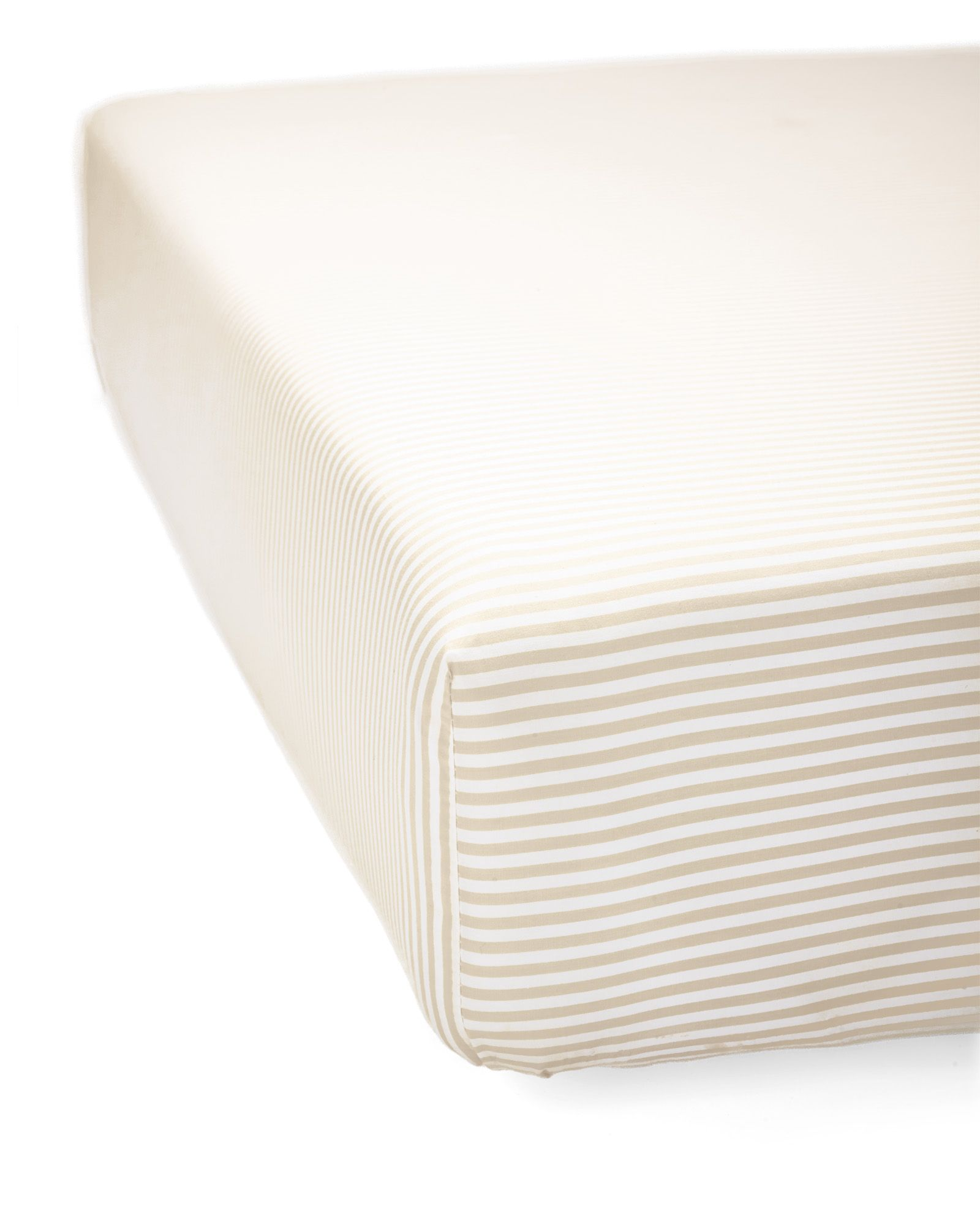 Serena Lily Oxford Stripe Crib Sheet