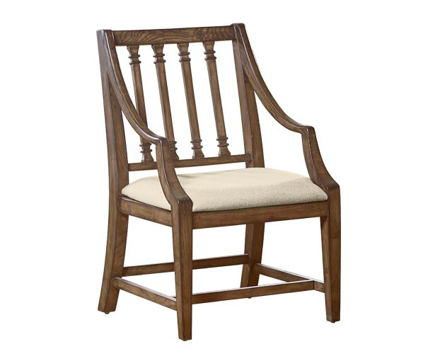 Inspired by an antique chair find, this Arm Chair from our Traditional dining collection has vintage Edwardian styling and a weathered character with its rugged Shop Floor finish. This chair is also available in Jo's White.These  chairs come in our rugged Shop Floor finish as well. - See more at:  http://www.magnoliahomefurnishings.net/item.aspx?itemnum=101#sthash.4g0LlQrR.dpuf