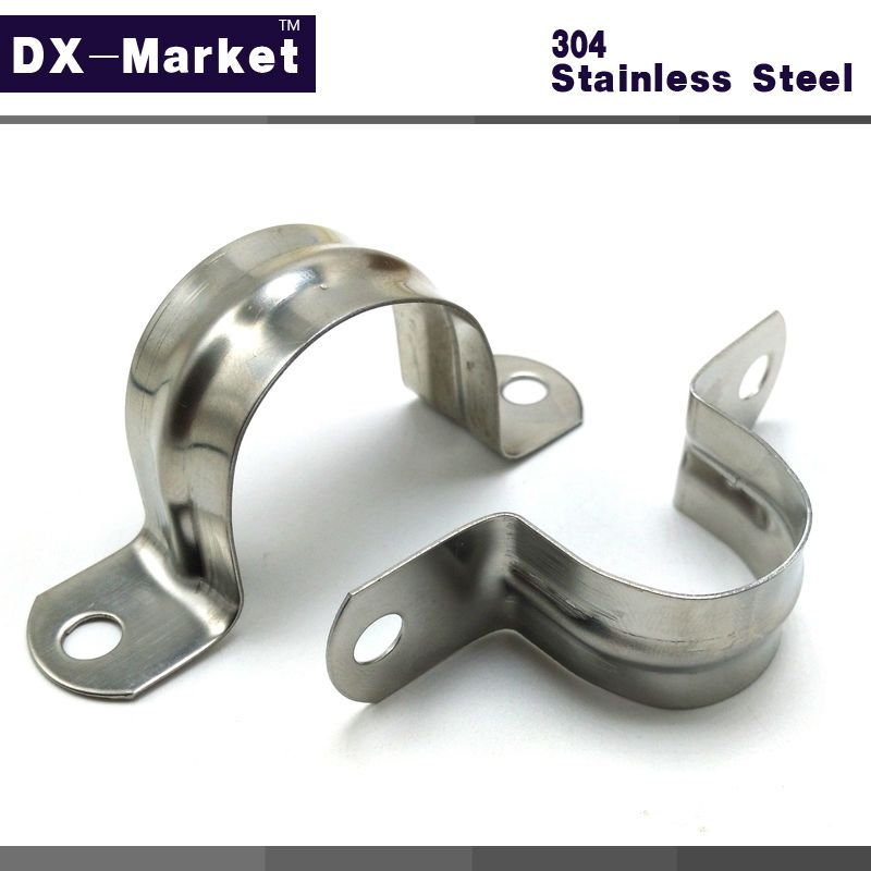 35mm-110mm , 304 stainless steel saddle clamp , Antirust cable clip ...