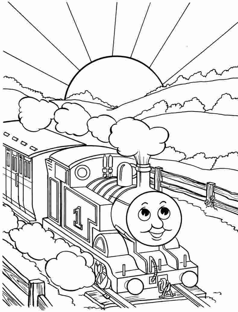 - Coloring Book: Thomas The Train Coloring Pages Alfieri More Than