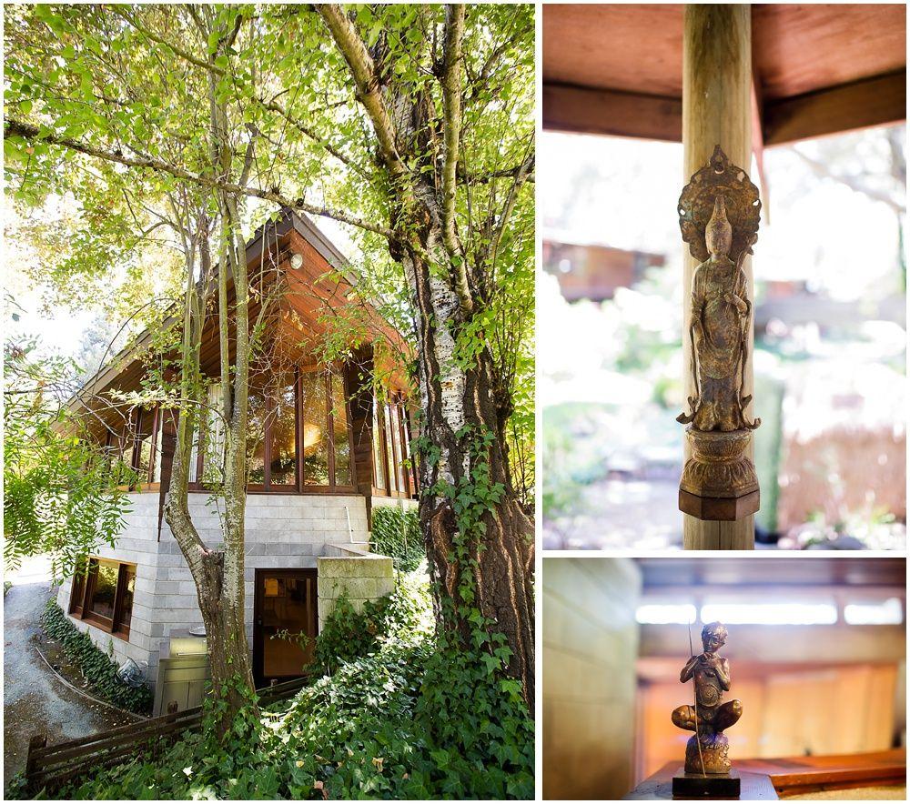 Frank Lloyd Wright Wedding Estate In Orinda Buehler House Chloe Jackman Photography