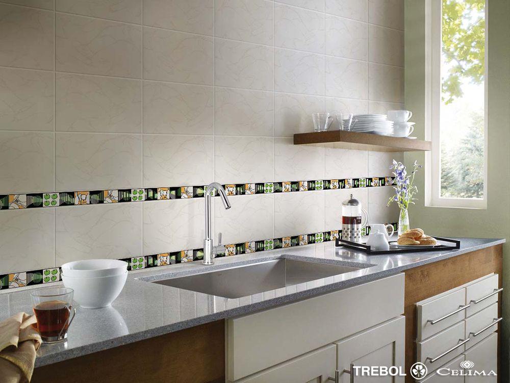 Lo nuevo en listelos de celima nuevo listelos cocina for Cocinas con mosaico