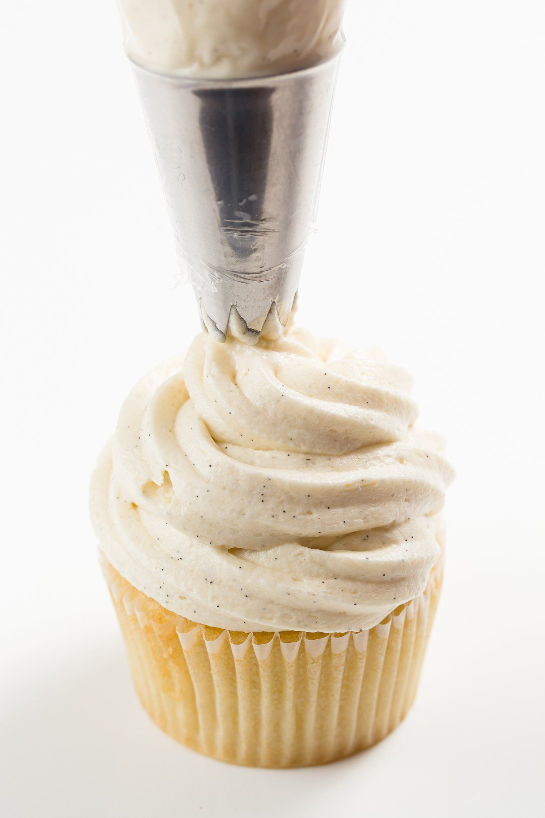 Sour Cream Frosting Tangy And Sweet Buttercream Recipe In 2020 Sour Cream Frosting Sour Cream Icing Cookie And Cream Cupcakes