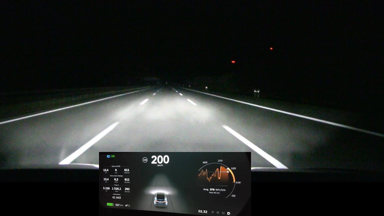 100 Kph To Mph >> Driving Model X 200 Kph 125 Mph For Over 100 Km 60 Mi