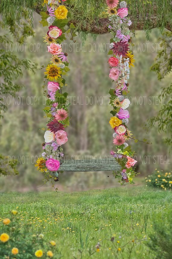 10x15 FT Backdrop Photographers,Floral Frame with Pink Meadow Flowers in Spring Foliage Blooms Nature Ornate Background for Kid Baby Boy Girl Artistic Portrait Photo Shoot Studio Props Video Drape