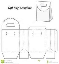triangle packaging template - gift bag template bags pinterest template vinyl