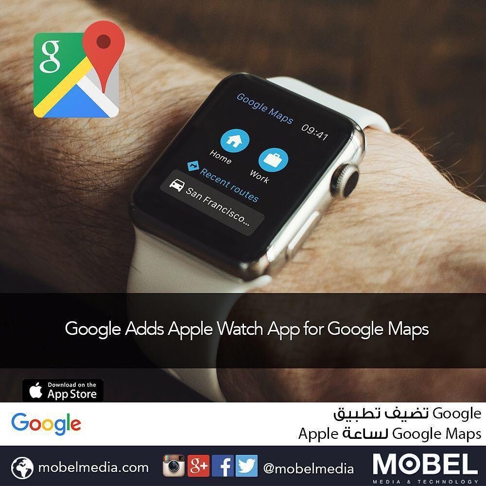 Google Adds Apple Watch App for GoogleMaps Download for