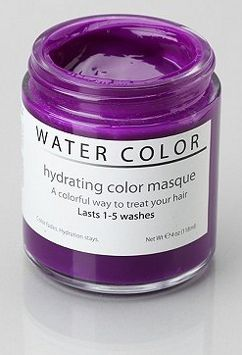 Water Color Hydrating Hair Mask Violet Hydrate Hair Hair Mask