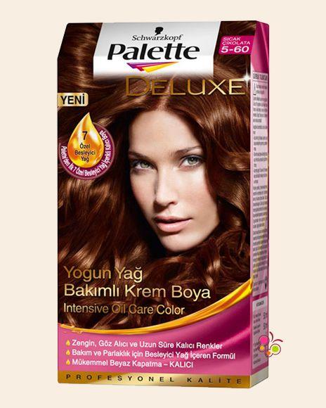 Palette Set Sac Boyasi 5 60 Sicak Cikolata Sac Sac Boyasi Palet
