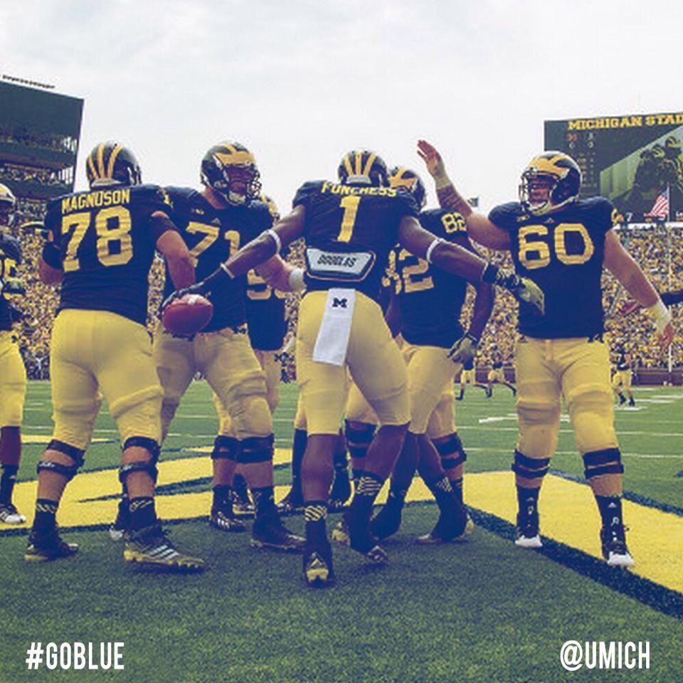 My boys. 💙💛 Michigan go blue, Michigan wolverines