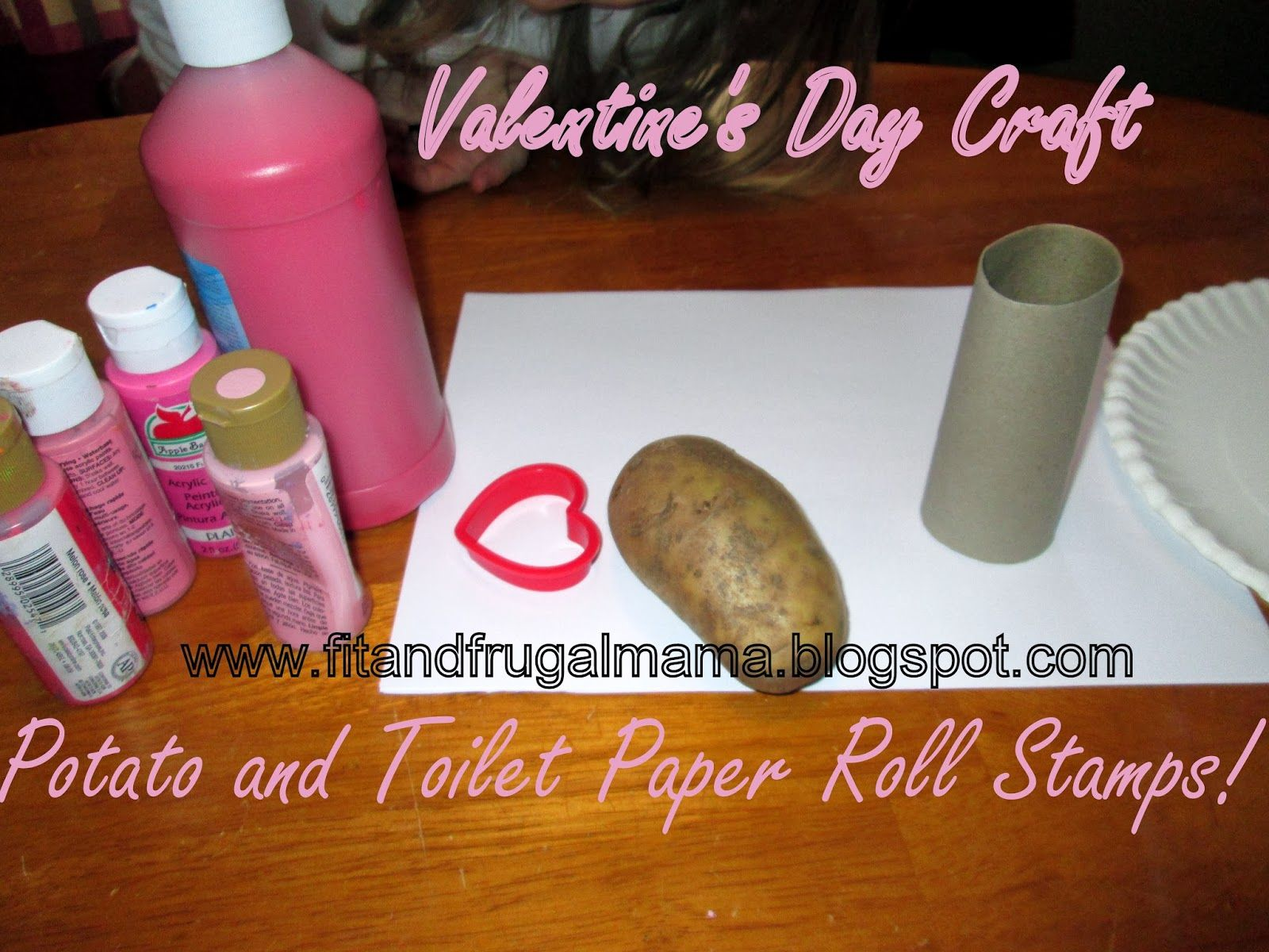 DIY Stamps: Potato and Toilet Paper Rolls