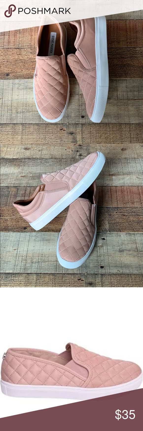 New Steve Madden Slip-On Sneakers Ew without tags Steve Madden Shoes Sneakers ,  #Madden #Sho…