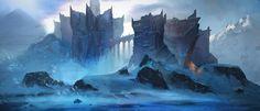 Frost Fortress, Luc Fontenoy on ArtStation at https://www.artstation.com/artwork/2qe6x