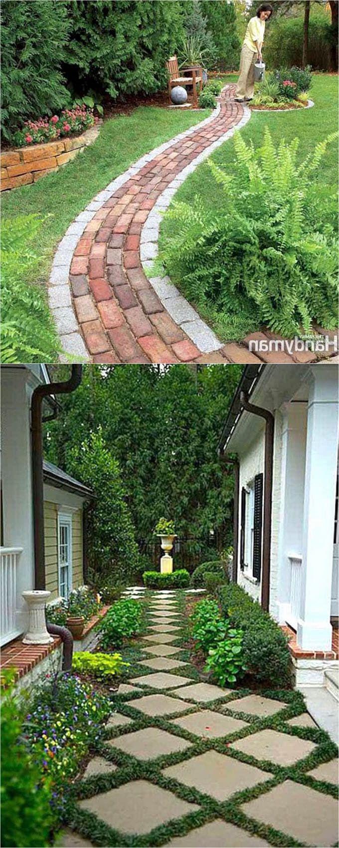42+ Contemporary Garden Paths DIY | Beautiful gardens ...