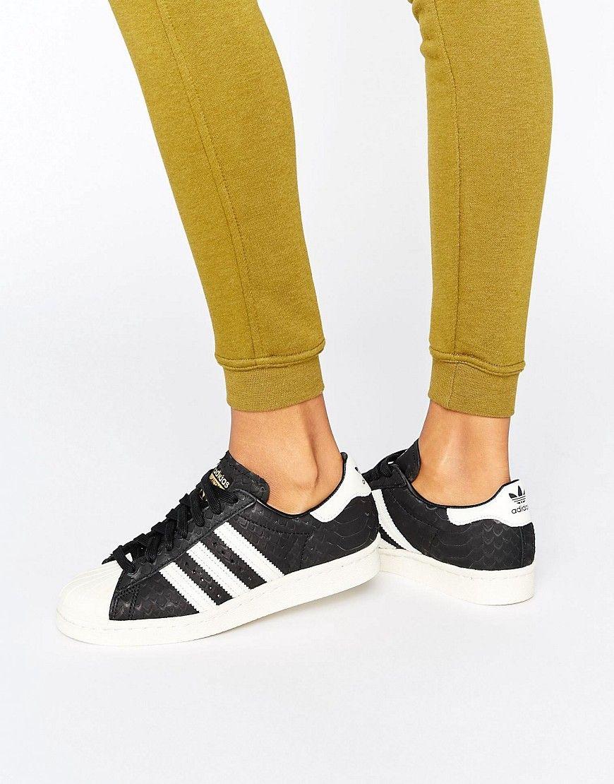 Cómpralo ya. Zapatillas de deporte negras en con estampado en negras relieve 50c8bd