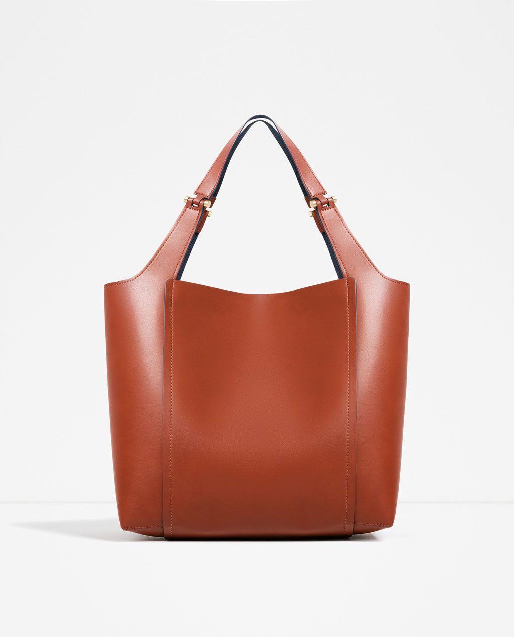 822a6dad62 Kabelka Handbags Kovovými S amp  Detaily Bags Zara Kabelky OXOq8Ux