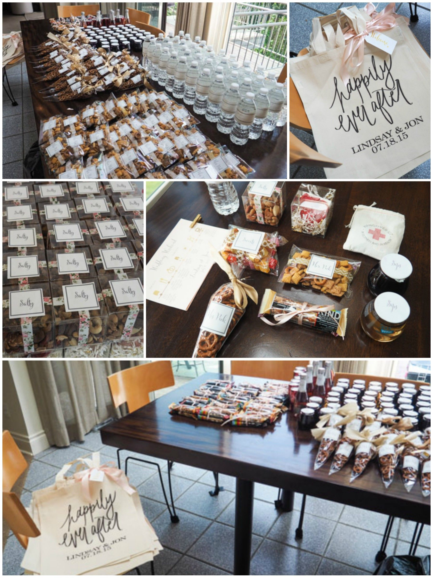 Wedding Wednesday: What We Put In Our Wedding Welcome Bags