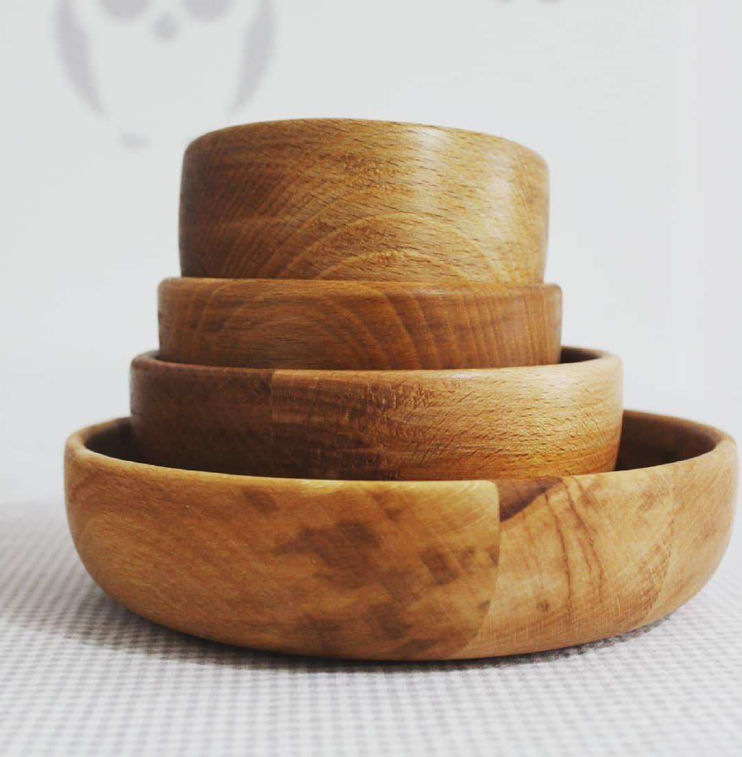 Piekne Drewniane Miseczki Miseczki Drewniane Zestaw Woodwork Woodlovers Kochamydrewno Walentynki Milosc Radosc Sz Leather Bracelet Leather Jewelry