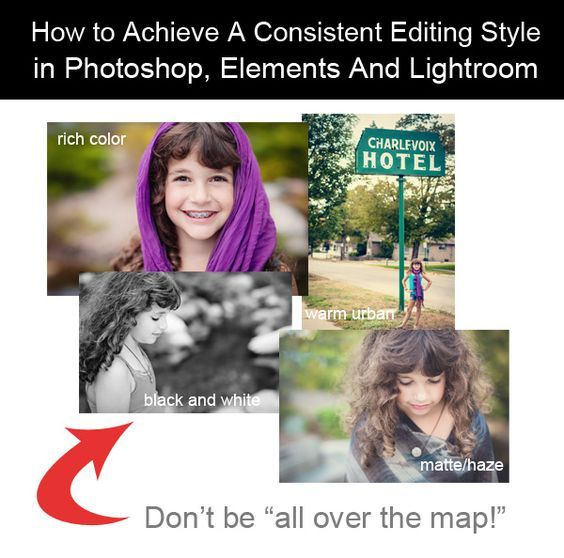 How to Achieve A Consistent Editing Style Are your photos all over the map in terms of editing style? If so, we are here to help! One difference between highly ...