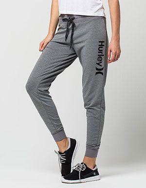 6e3d02c25 HURLEY Dri-FIT Womens Jogger Pants Grey | Clothing in 2019 | Joggers ...
