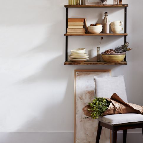 L-Beam Wall Shelf Beams, West elm and Shelves