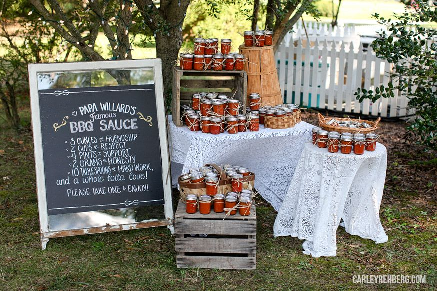 Custom Jars And Chalkboard Lindsay Zach Belle Isle State Park Wedding Carley Rehberg Photography