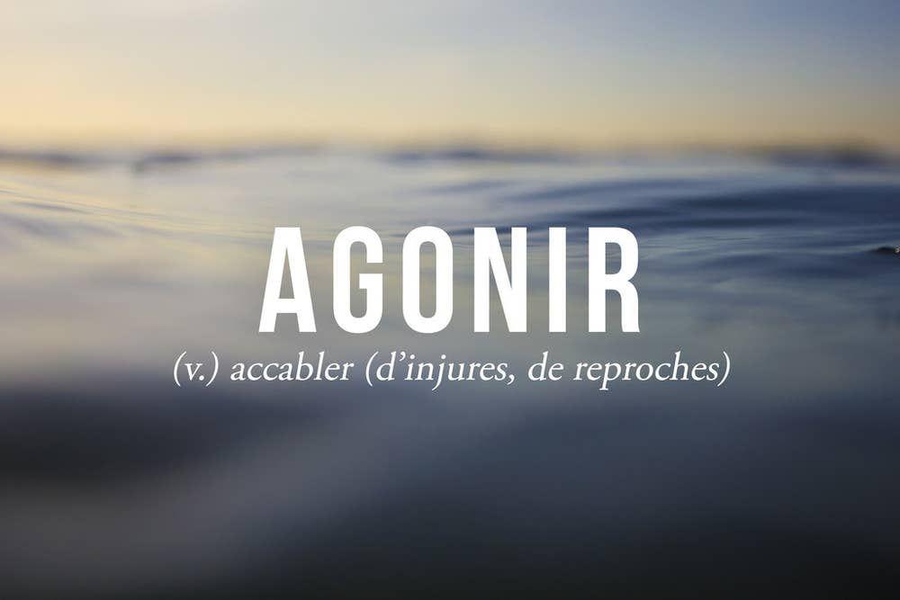 19 mots français que vous ne connaissiez peut-être pas