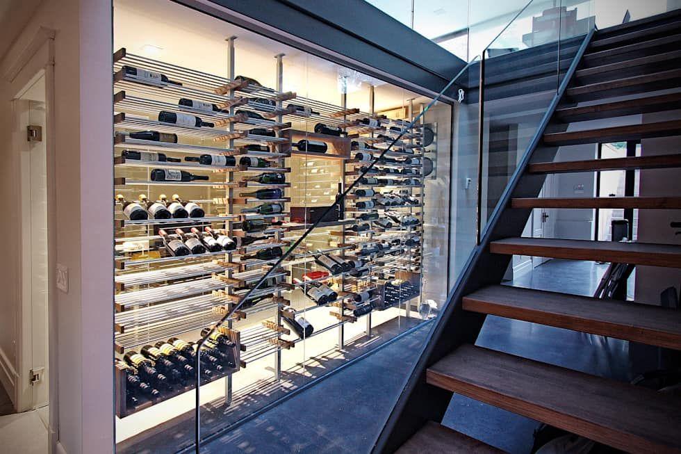 Cave à vin moderne: cave à vin de style par millesime wine ...