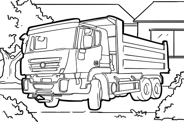 lkw ausmalbilder  truck coloring pages coloring pages