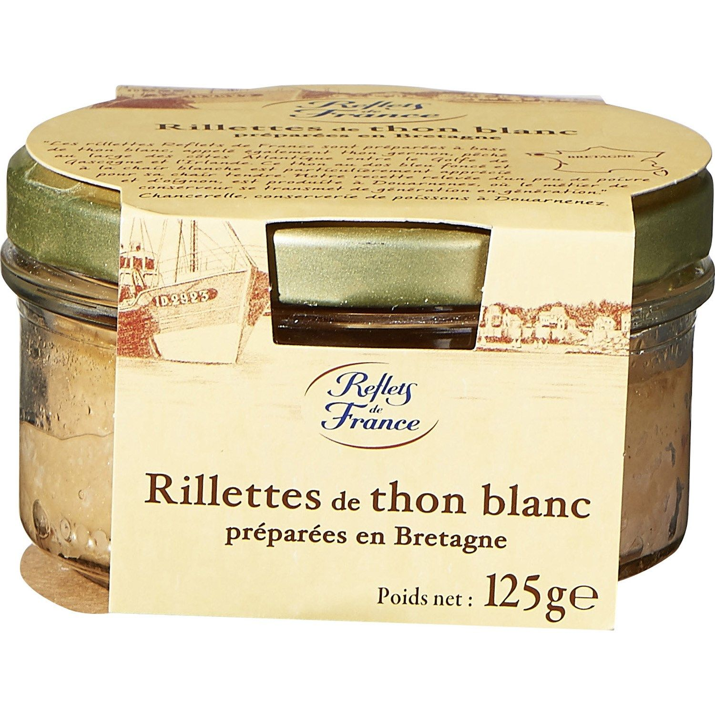 Rillettes de thon blanc REFLETS DE FRANCE