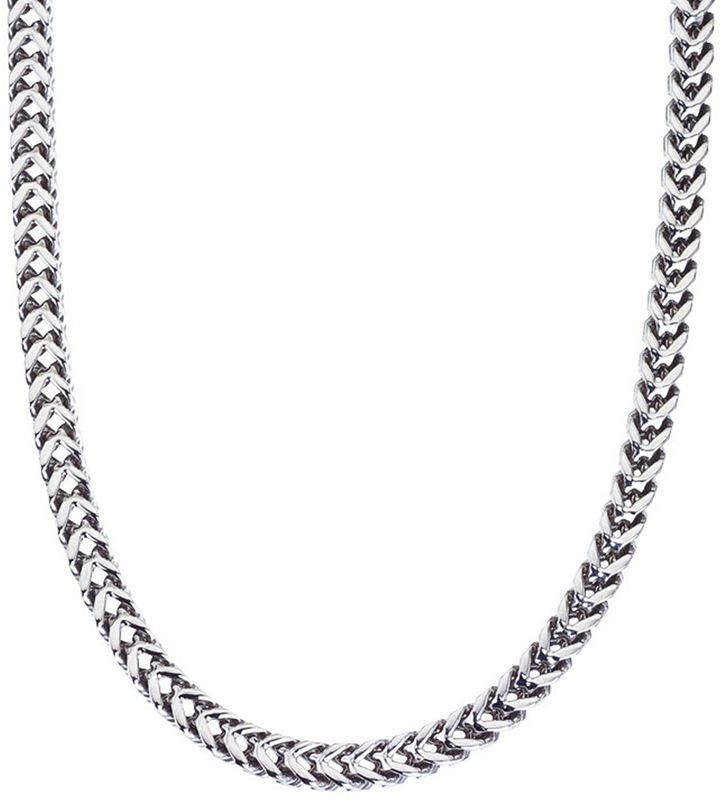 Fine Jewelry Mens 22 9.5mm Figaro Chain in Stainless Steel lg4wKp