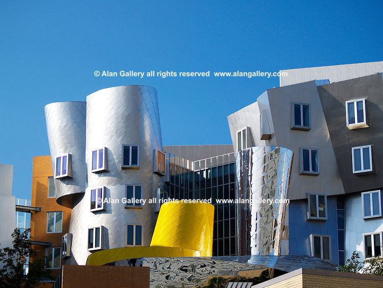 Stata Center Architect Frank Gehry Mit Alan Gallery Photography Frank Gehry Gehry Architect