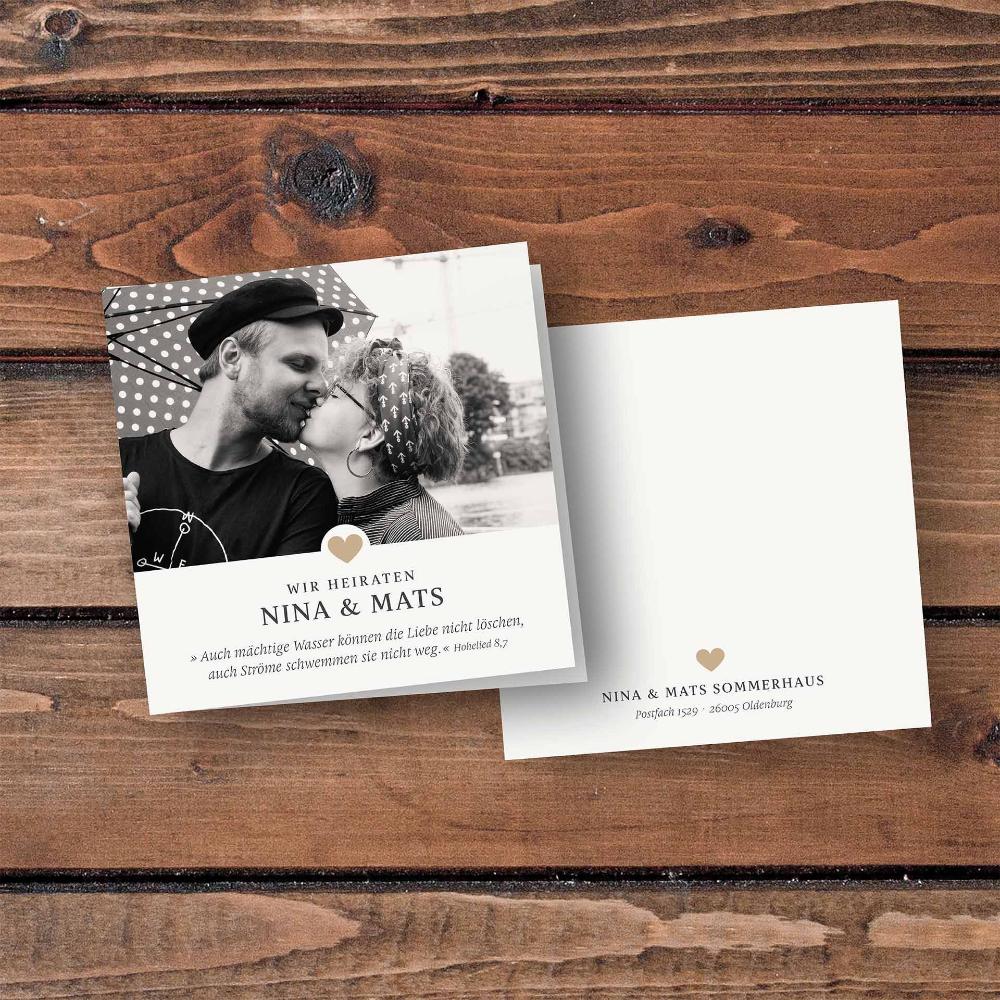 Hochzeitskarten Einladungskarte 4seiter Quadratisch Kartendesign Einladungskarten Hochzeit Oldenburg Di 2020