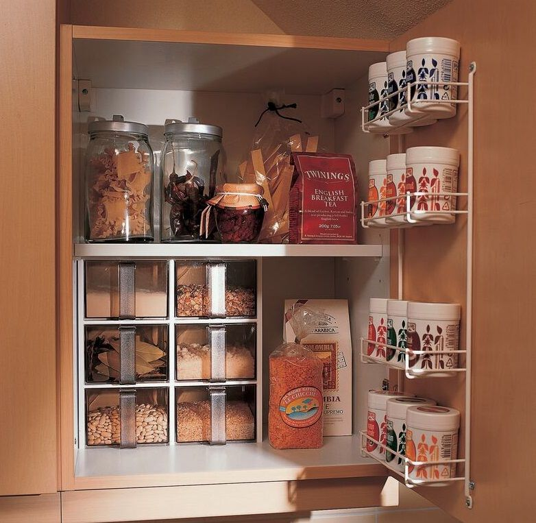 Contemporary Kitchen Storage Systems: Storage Solutions For Tiny Kitchens