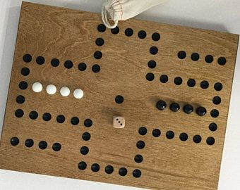 Marble Game With Wooden Board Aggravation Game Board Wood 2 Player Glass Marbles Wooden Game