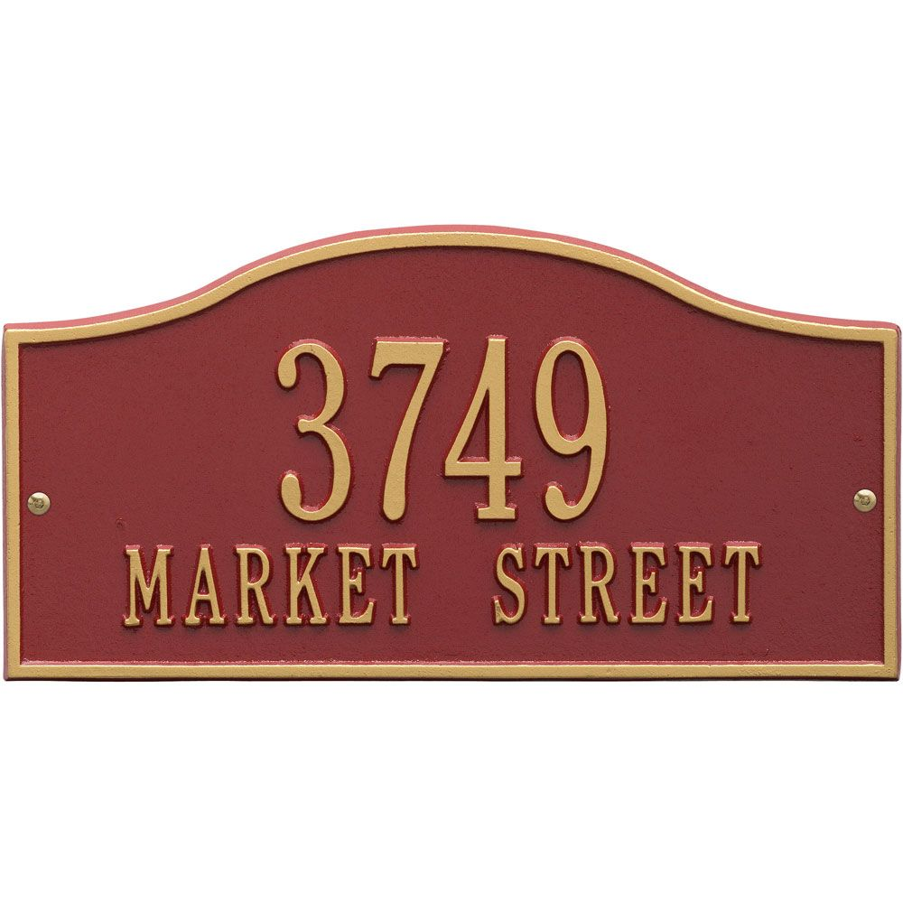 Custom Made Address Plaques Make Lovely Gifts All Year Round They Re Made In The U S From Recycled Address Plaque Whitehall Products Black Hills Gold Jewelry