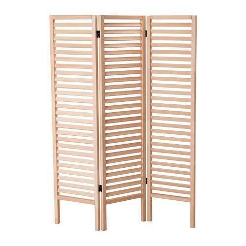 Ikea hj rtelig paravent ce paravent permet de diviser facilement une pi ce afin de cr er un - Paravent interieur ikea ...