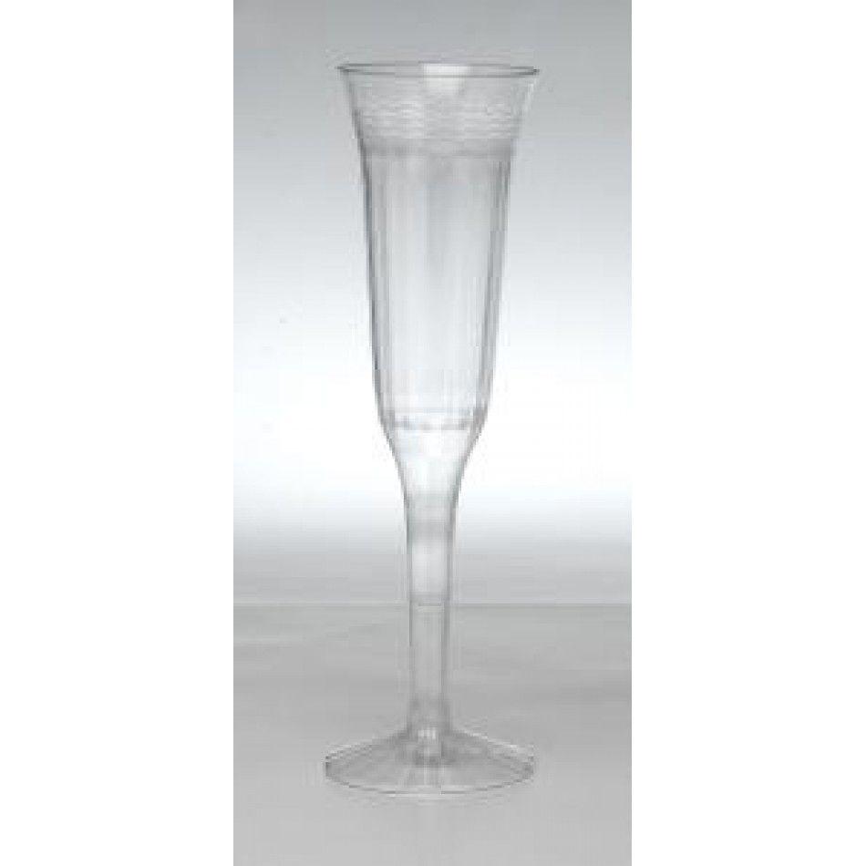 5 oz Champagne Flute - Clear Flutes [REFC1P5 5oz 1pc Champagne Flute ...