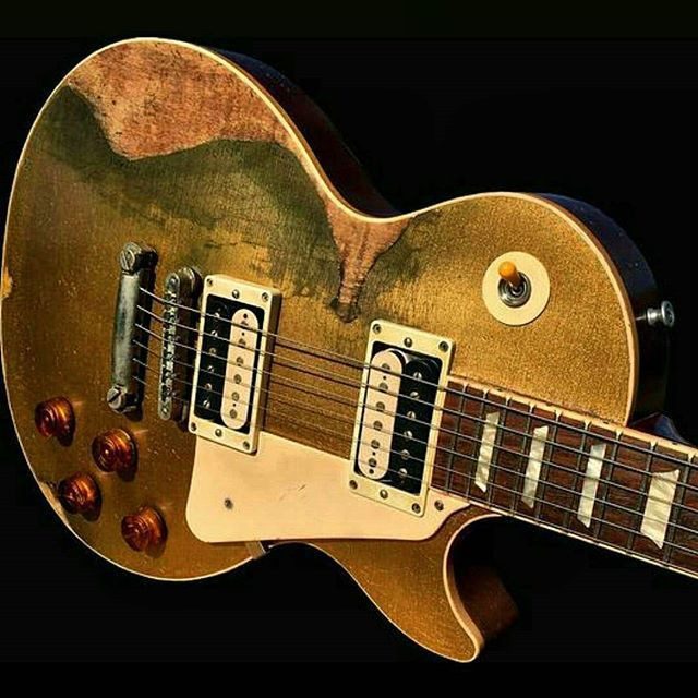 The Right Spot For Relic With Images Guitar Les Paul Gibson