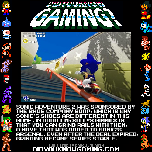 Did You Know Gaming Sonic Adventure 2 Sonic Adventure Sonic Funny