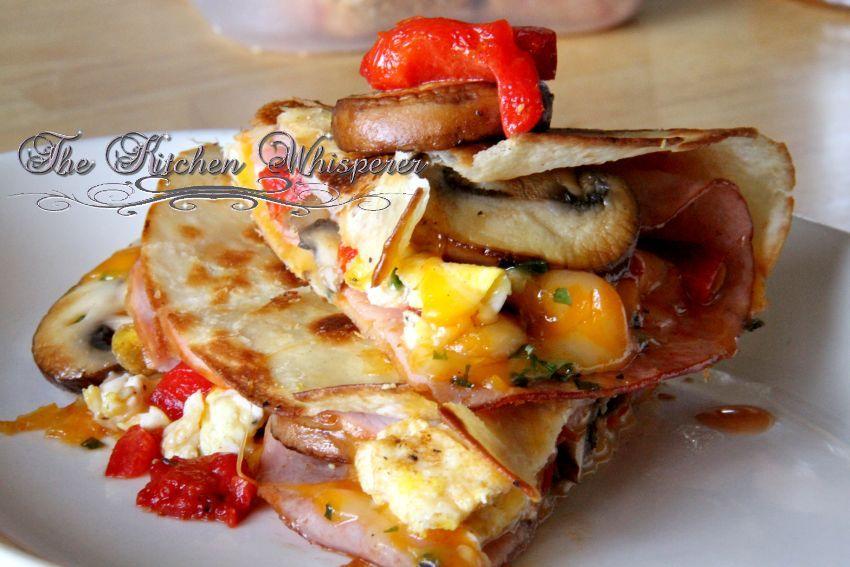 Breakfast quesadillas recipe breakfast breakfast