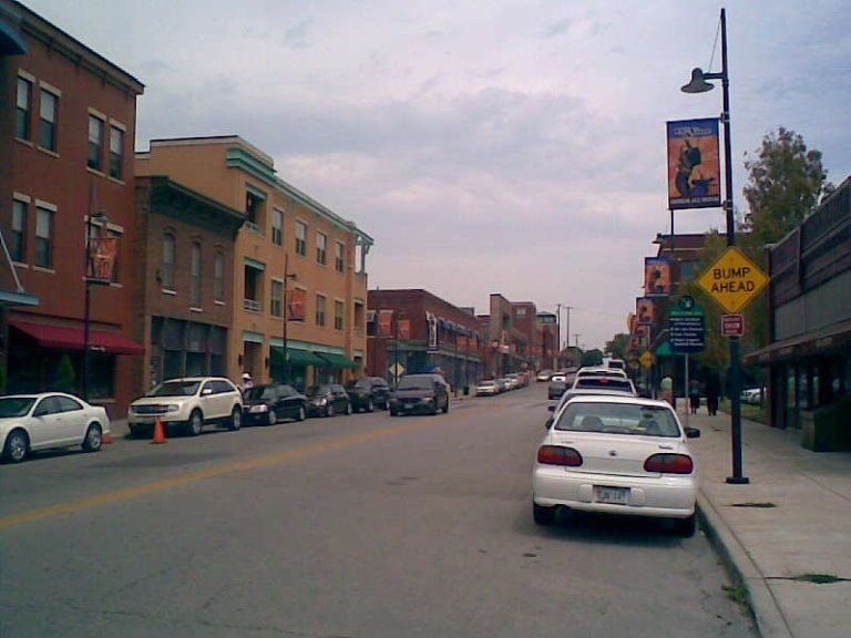 18th And Vine Historic District In Kansas City Missouri Kansas
