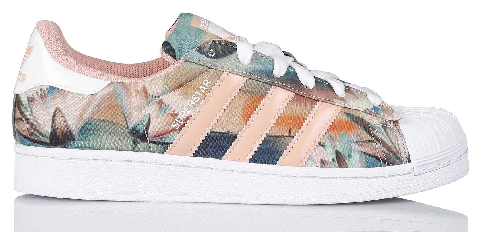 Superstar Bleu Sur Baskets Colorée Adidas By FemmeVersion Pour F1KcTJl