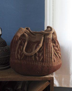 Intwined Bag Kit - Brown by Meghan Jones