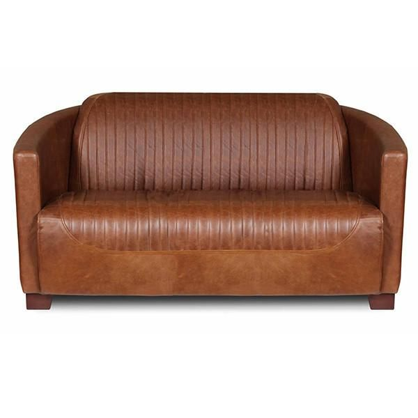 Spitfire Leather 2 Seater Sofa Leather Sofa Italian Leather Sofa Leather Sectional Sofas