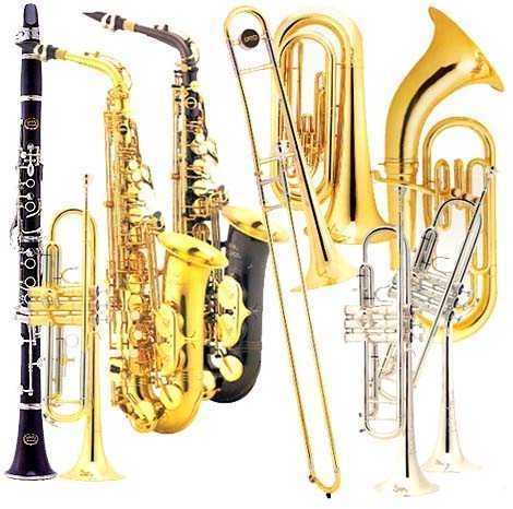 what do woodwind and brass instruments have in common