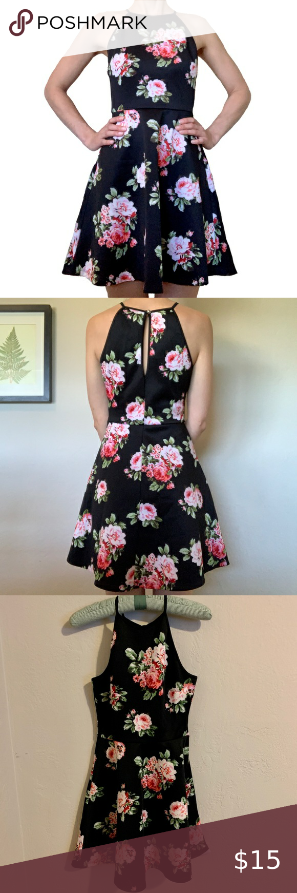Emerald Sundae Fit And Flare Floral Dress Dresses Fit And Flare Floral Dress [ 1740 x 580 Pixel ]