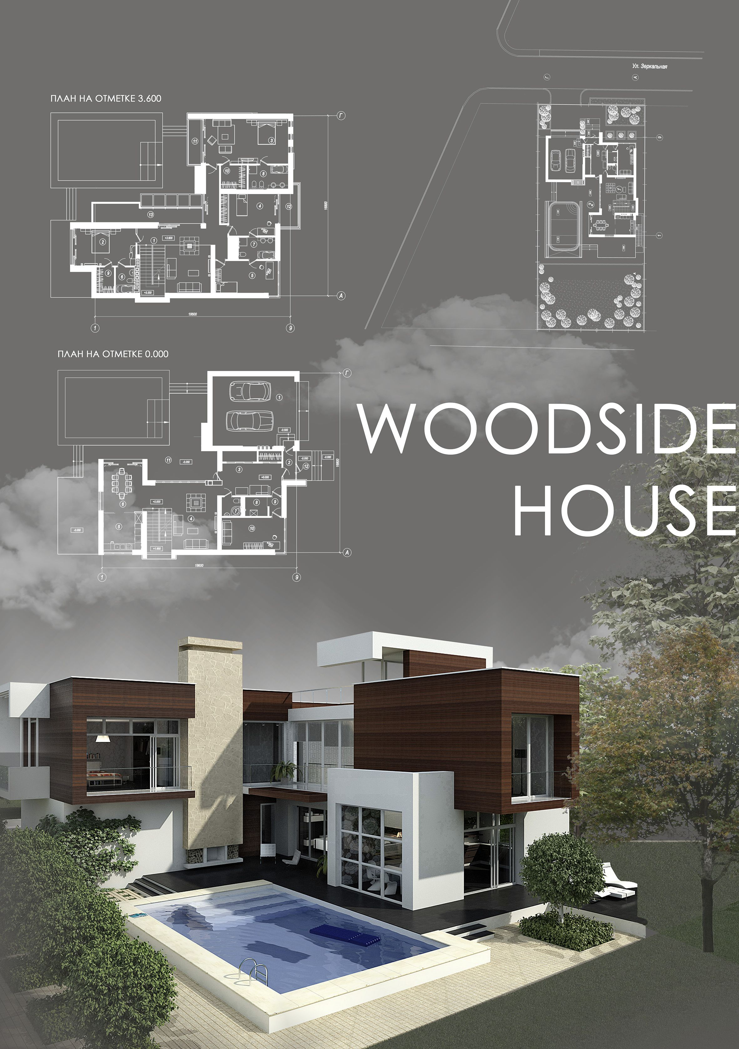 Building · woodside house contemporary